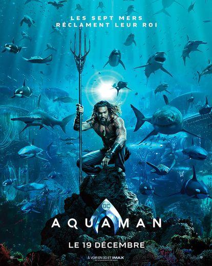 """""""Aquaman"""" avec Jason Momoa et Amber Heard sort le 19 décembre au cinéma"""