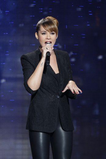 La chanteuse Chimène Badi
