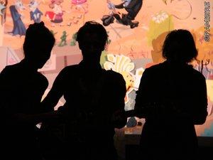 """""""Malice bouclette"""" conte musical par les Pap's, à Lassouts"""
