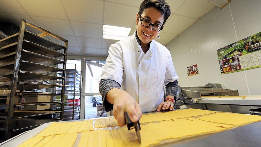 Adeline Boulou ajoute toujours une pincée d'éthiquedans ses recettes de biscuits.