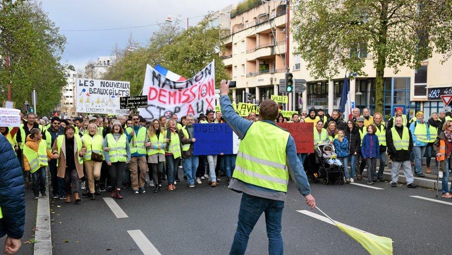 Une marche est à nouveau organisée ce samedi matin à Rodez.Samedi dernier, elle avait réuni 3 000 participants.