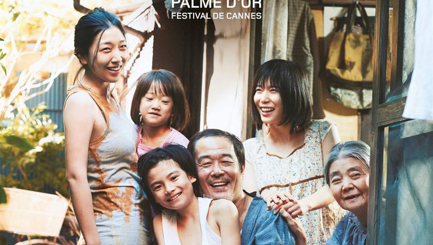 """Palme d'Or 2018, """"Une affaire de Famille"""" de Kore-Eda Hirokazu sort mercredi au cinéma"""