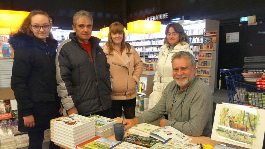 L'auteur-illustrateur Daniel Brugès était à l'Espace culturel