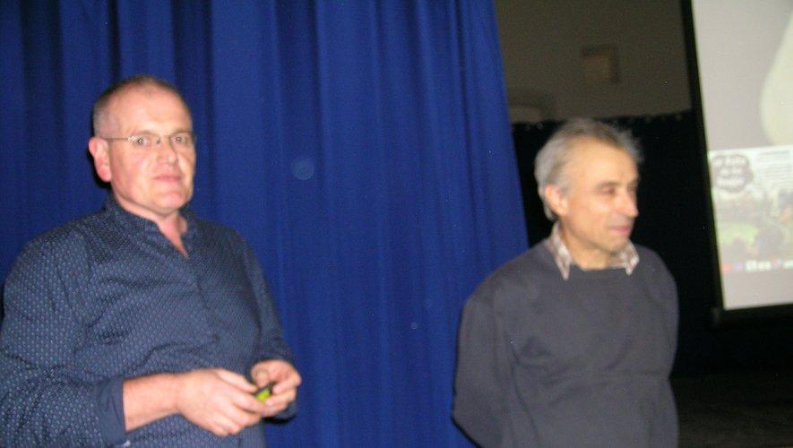 Francis Caulet et Laurent Génola ont animé cette soirée.