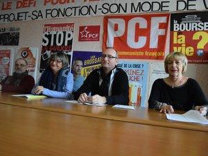 Joseph Ponsot, Corinne Compan, Gilles Marinet et Martine Perez.