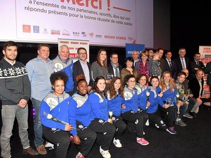 Ce lundi soir à Rodez, a eu lieu la cérémonie de remise des Trophées des sports du service évènementiel de Centre Presse. L'occasion d'honorer sept personnalités ou équipe départementales.