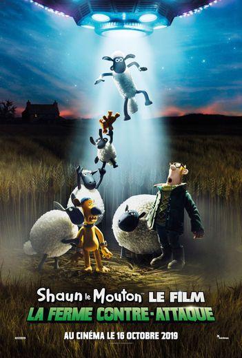 """""""Shaun le Mouton, le film : La Ferme Contre-Attaque"""", en salles le 16 octobre 2019."""