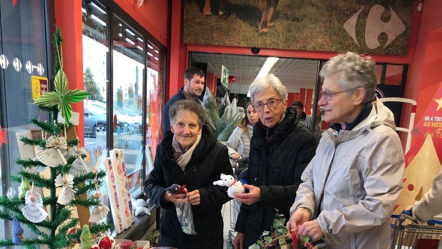 Elles ont donné de leur tempspour la vente de Noël.
