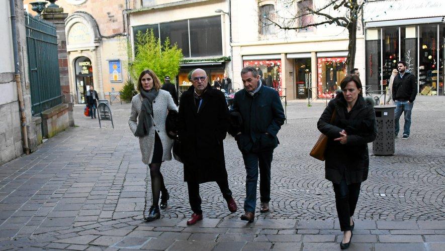 Une délégation représentant les avocats du barreau de l'Aveyron a été reçue en préfecture ce mercredi matin.