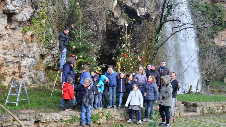 La commune prend les couleurs de fêtes de fin d'année