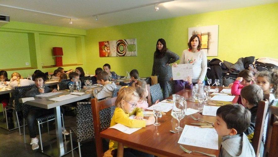 Le restaurant Le Planol a accueilli les enfants de l'accueil de loisirs