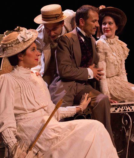 L'œuvre de Georges Courteline sera jouée dimanche, au théâtre municipal.