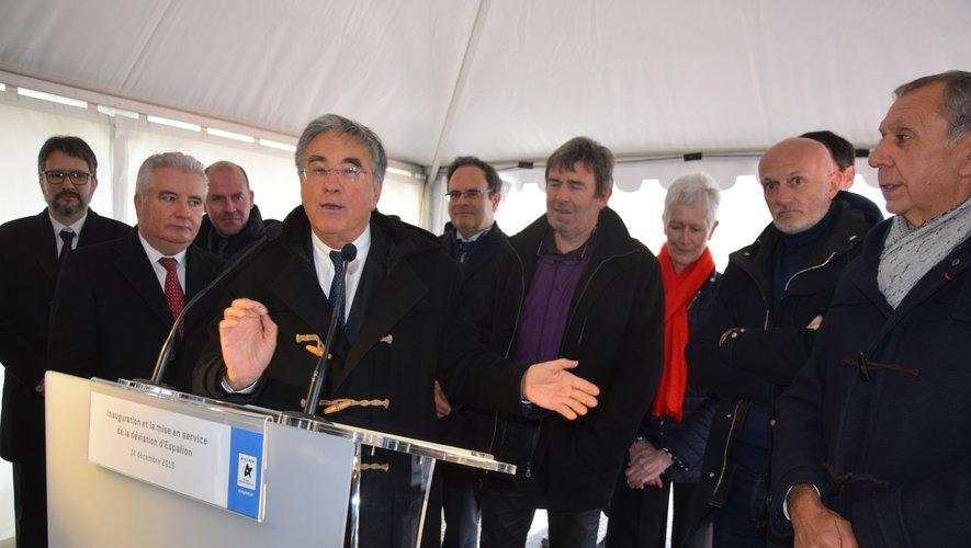 Jean-François Galliard, président du conseil Départemental, a rappelé le montant élevé à 26M€