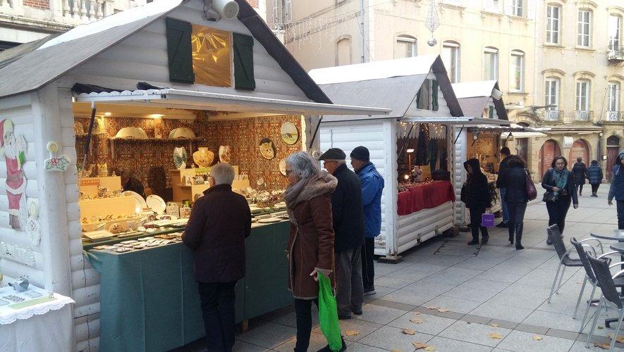 Le marché restera en place jusqu'au 24 décembre inclus.