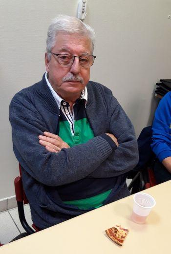 Gérard Ségur, bénévole infatigable du club de football.
