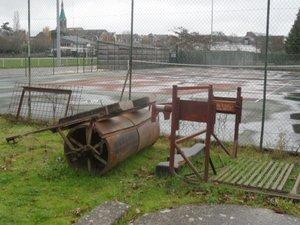 L'ancien terrain de tennis qui va accueillir le projet.