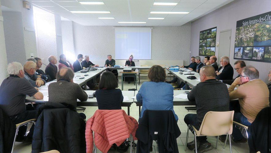 Le comité du Syndicat intercommunal d'alimentation en eau potable de la Viadène a regroupé les communes du Nord-Aveyron sous la présidence de René Delmas.