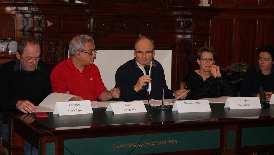 Le maire François Marty et son équipe ont expédié les affaires courantes.