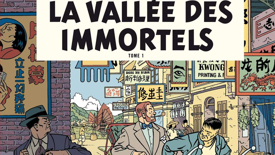Le tome 25 des aventures de Blake et Mortimer est en tête des ventes d'après le classement des ventes de livres Edistat.