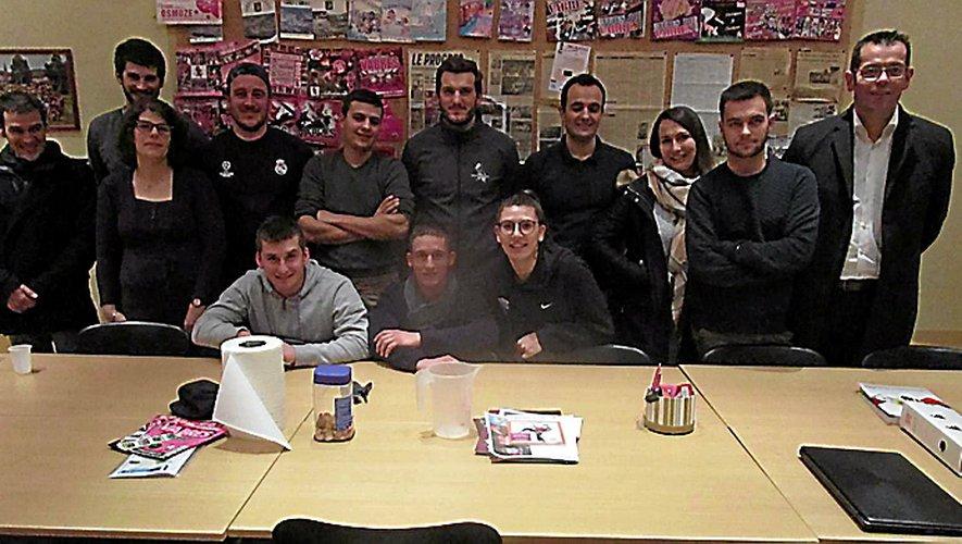 Les jeunes du comité des fêtes satisfaits de l'édition 2018.