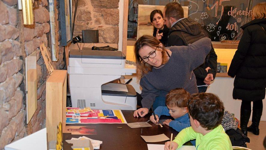 Les enfants ont pu participer à des ateliers créatifs.