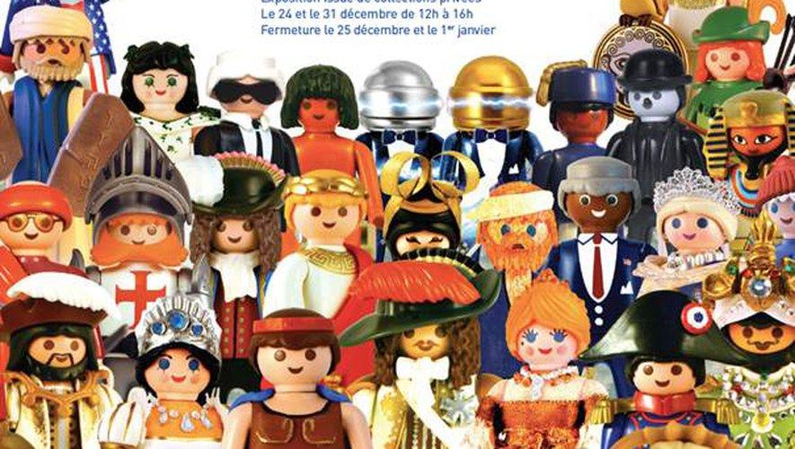 """""""L'Histoire en Playmobil"""", du 22 décembre 2018 au 6 janvier 2019 à Versailles"""