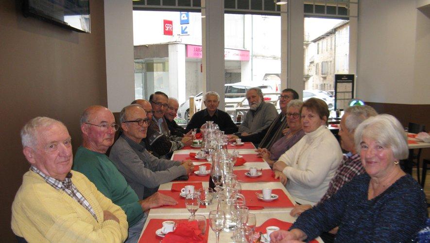Le comité des retraités SNCF.