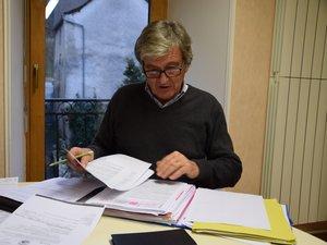 Jean-Eudes Le Meignen,le président de la communauté de communes.