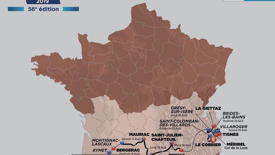 Le tracé du prochain Tour de l'Avenir