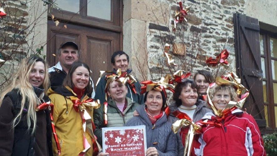 Samedi 22 décembre, l'esprit de Noël, organisé par l'association des amis de Saint-Marcel.