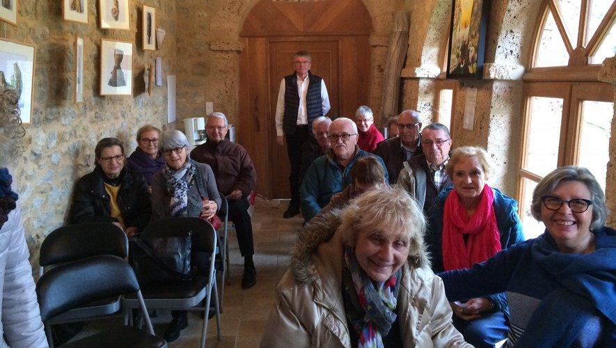 L'assemblée générale de l'association des amis de Saint-Austremoine, s'est tenue à l'Orangeraie.