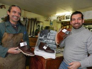 Vincent Bréa et Frédéric Salé partagent la même philosophie du métier de chausseur.