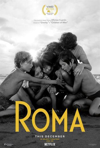 """""""Roma"""" de Alfonso Cuaron franchit une nouvelle étape vers les Oscars 2019."""
