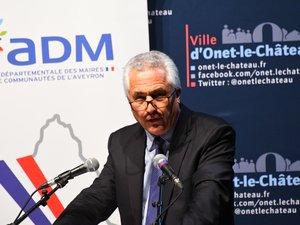 Le président de l'Association départementale des maires, Jean-Louis Grimal.
