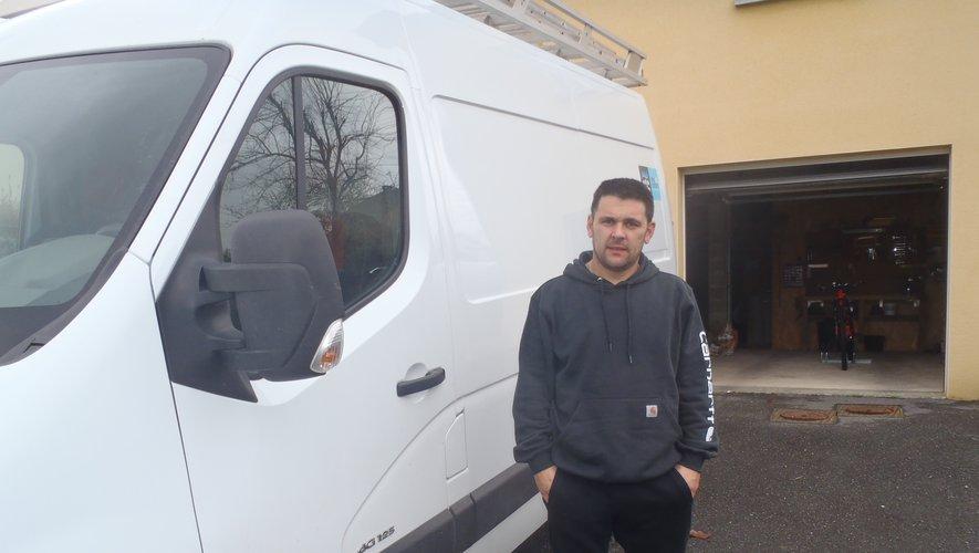 Nicolas Trouche, nouvel artisan plombier