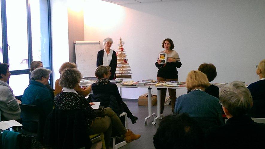 Une présentation très appréciée de Frédérique et Muriel.