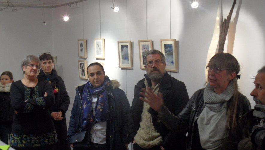 Denis et Yamisne exposent leurs œuvres à la Quincaillerie et viennent enrichir cette palette artistique.