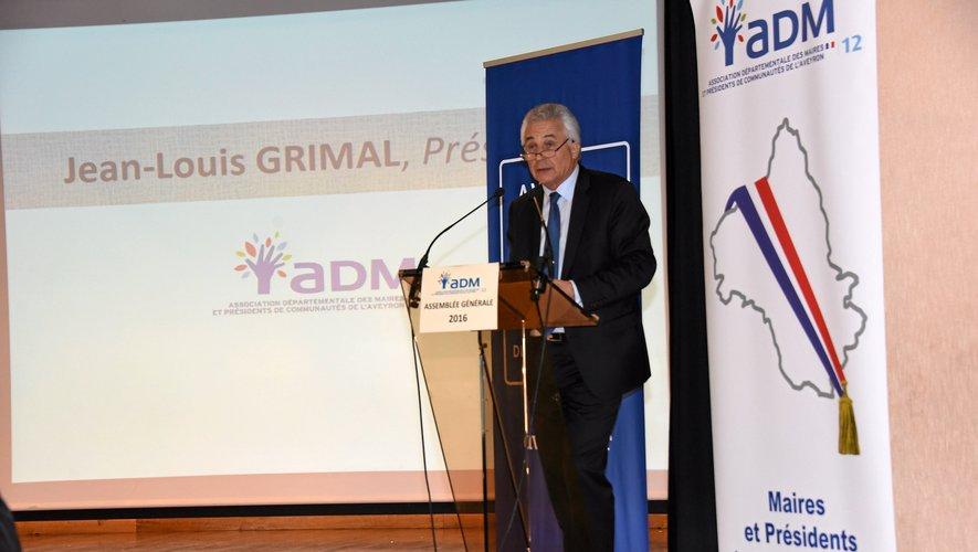Jean-Louis Grimal, président de l'association des maires du département.