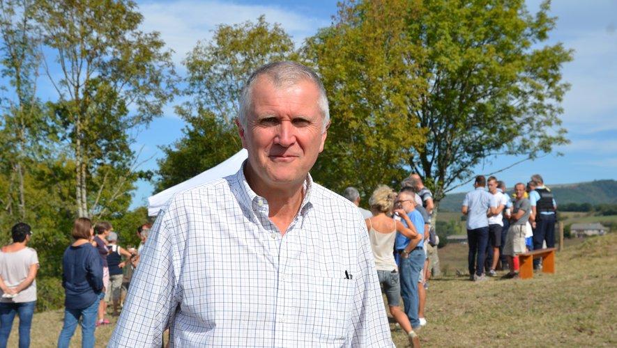 Pierre Rols, président de l'association.
