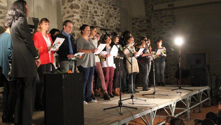 La tolérance chantée par les écoliers  de la Chartreuse