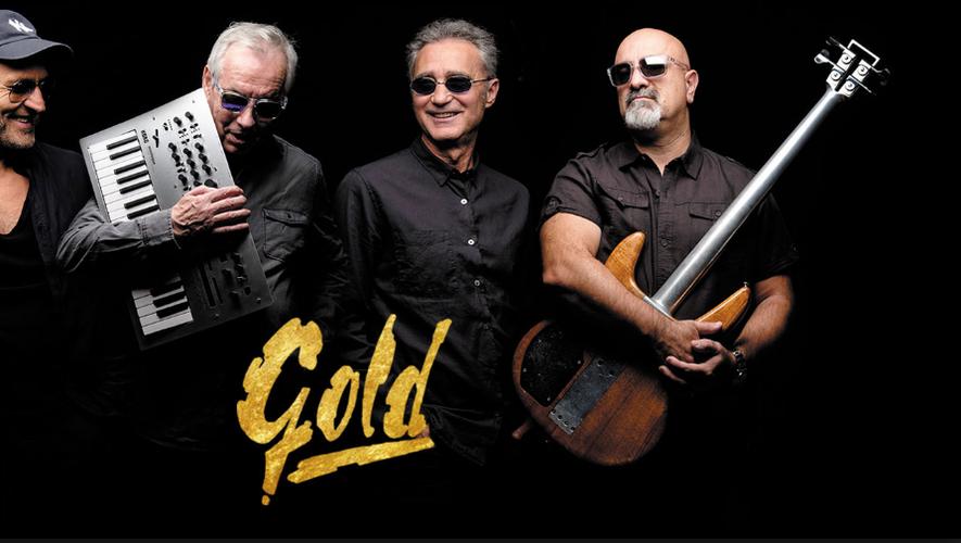 En deuxième partie du concert, les Gold et tous leurs succès.