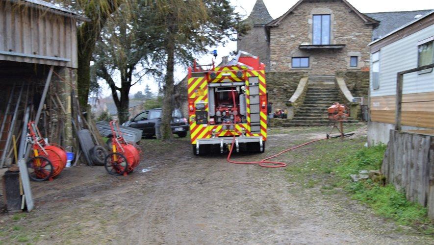 Les pompiers se sont rapidement rendus maîtres du sinistre.