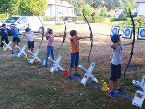 Le tir à l'arc « comme Robin des Bois » a déjà beaucoup plu aux enfants.