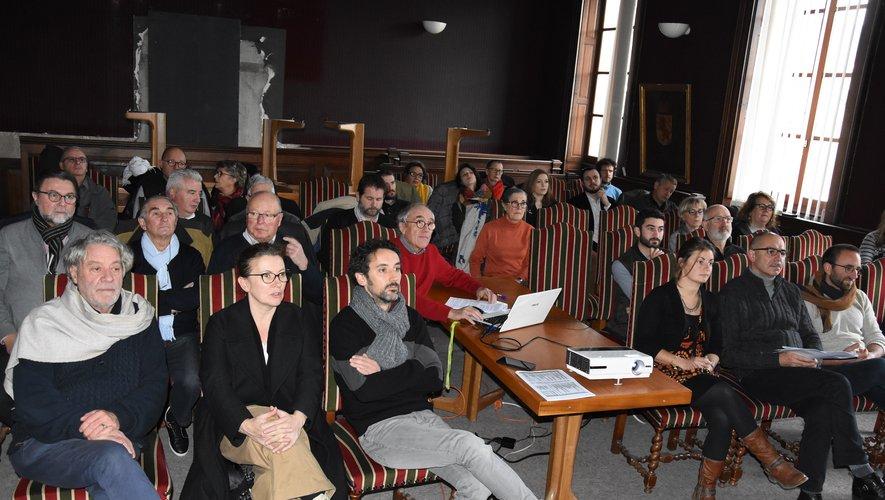 Adhérents et animateurs du château étaient venus écouter et débattre le bilan de la saison.