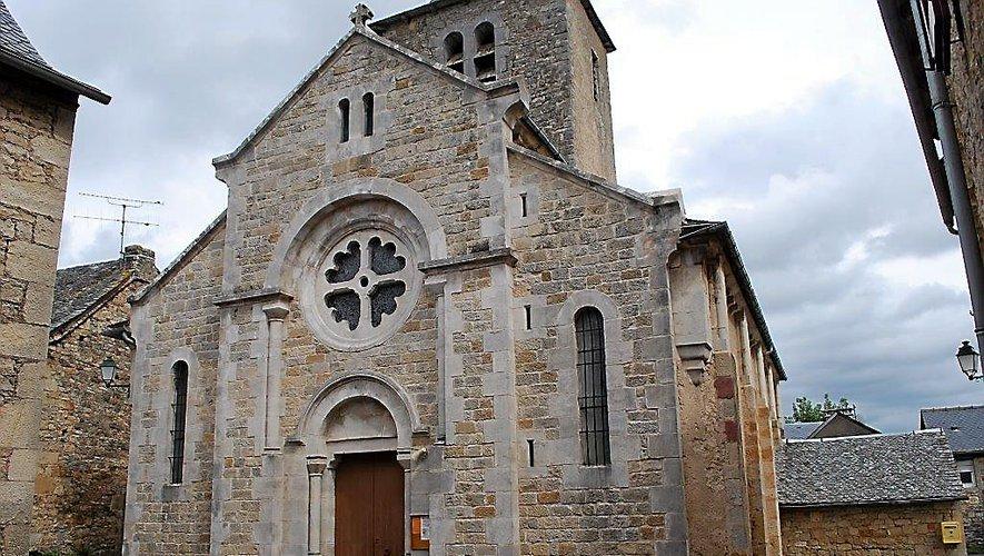 L'église Saint-Géraud de Concourès.