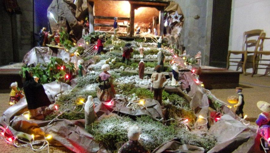 La crèche de Saint-Félix.