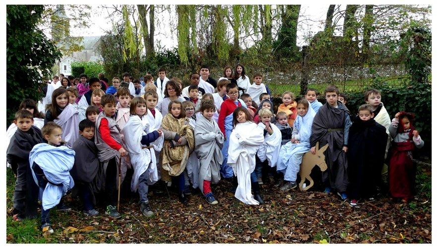 Le projet sur la Nativité a enthousiasmé les enfants