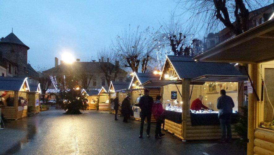 Le marché de Noël est ouvert depuis jeudi.