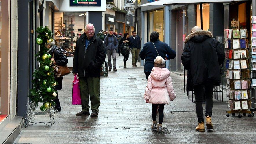 A Rodez, Les commerces seront aussi ouverts dimanche et lundi.