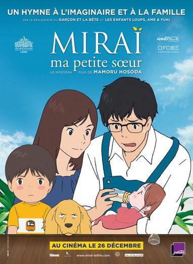 """""""Miraï, ma petite soeur"""" sort le 26 décembre au cinéma"""